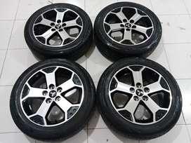 Veleg mobil second Xpander Cross ring 17 pcd 5x114, 3 & ban siap Pakai