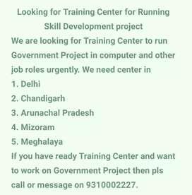 Computer Training Center Required in Delhi