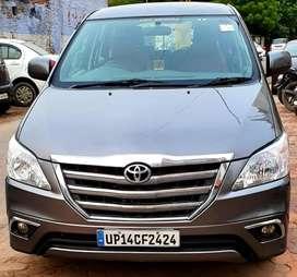 Toyota Innova 2.5 GX 7 STR BS-IV, 2014, Petrol