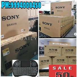 32 INCH SMART TV FOR 50 % SALE # SONY * MI * TCL * ONIDA # EMI & WARTY