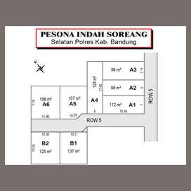 Cicilan 12X: Kavling Strategis Dapat SHM: Dekat Polresta Bandung