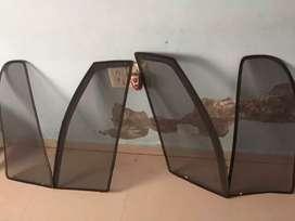 NET PARTITIONS HONDA AMAZE CAR WINDOWS FOR COOLING  DARKENING EFFECT