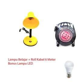 Paket Super Heboh Lampu Belajar+Roll Kabel = Lampu Led - Random