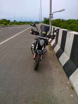 A dual purpose bike use for on-road & off-road