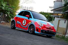 Fiat abarth.500 km.3rb thn.2015 custome paint prefect condition