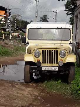 Government jeep Mahindra 1990 Diesel Good Condition . All papers clear