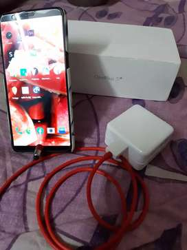 ONE PLUS 5T WITH BOX, CHARGER. PERFECT WORKING CONDITION