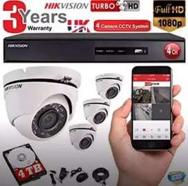 PAKET KAMERA CCTV TERBAIK TERPERCAYA HILOK==Naga digital??