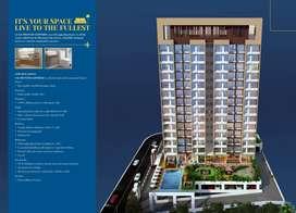 Spacious 2 BHK Flats for Sale-Sai Proviso Sapphire   Roadpali, Mumbai
