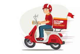 Hiring delivery boy for food delivery#bike-rider apply#
