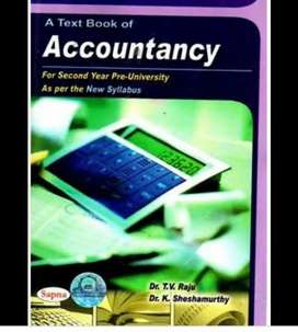 2nd Puc Accountanys Text book