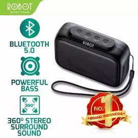 Speaker  bluetooth asli 100% ROBOT TB100 suaran TOP