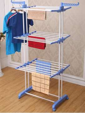 Multi Hanger your garments on the closet floor, plus it's much better