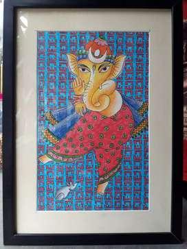 Ganesh painting(handmade)