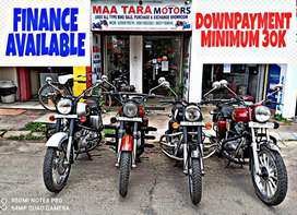Great stock in royal Enfield bullet with easy emi facility