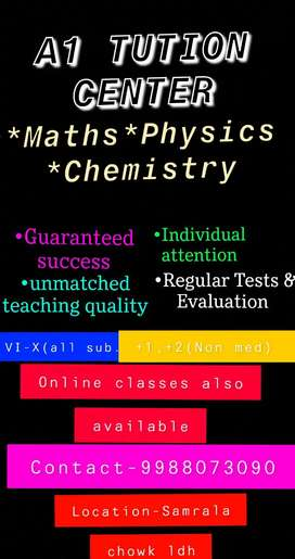 Want Maths & Science tuitions  ?