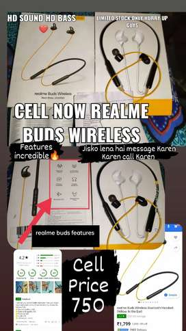 Realme buds wireless sell now
