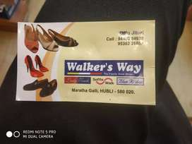 Needed salesman for foot wear showroom with experience