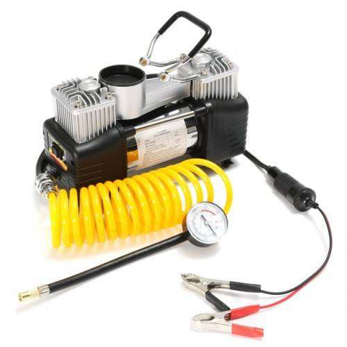 12V Double Cylinder Car Air Compressor rating ( NEW BOX PACK ) 0