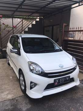 Agya trds dp//10jt matic at 2015 putih aslibali tgn 1