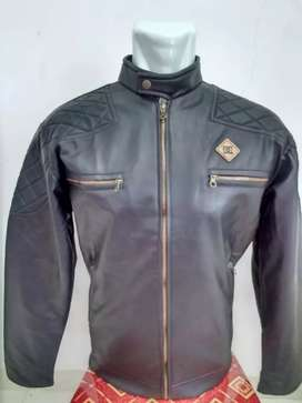 Jaket bikers hitam