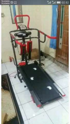 Treadmill manual enam fungsi tl 04Ag
