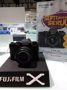 Ready Stock Kamera Fujifilm X-T100 mau cicil tanpa kartu kredit bisa