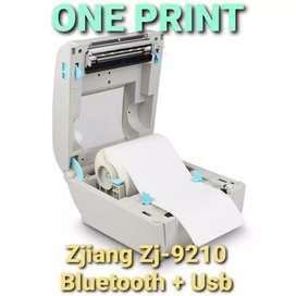 Printer Barcode Label Thermal Bluetooth + Usb Cetak Resi Pengiriman