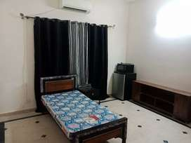 Furnished room with attached bathroom G11