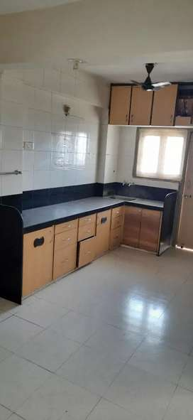 3bhk flat with COUPBORD AND MODULE KITCHEN