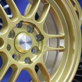 jual velg type hsr wheel KUMAMOTO JD109 HSR Ring.15 Lebar.6,5 PCD.4X10