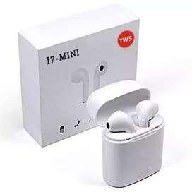 Headset bluetooth i7 tws twins mini airpods