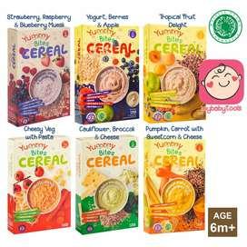 Yummy Bites Cereal bubur bayi mpasi / Yummybites Cereal/ PERLENGKAPAN