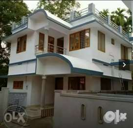 3 bhk 1300 sqft new build house at paravur aluva road thattampady
