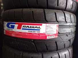 BAN MOBIL YROS JAZZ AGYA VIOS SWIFT DLL GT RADIAL 215/40/R17 SX2