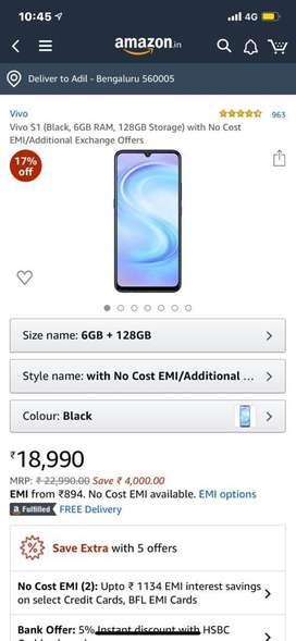 Vivo S1 128gb