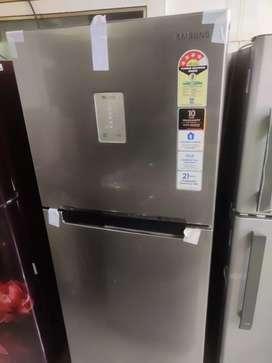 Samsung refrigerator double door 324 ltr connect inverter