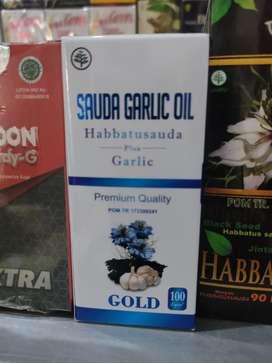 Sauda Garlic Oil Habbatussauda plus ekstrak bawang putih di Denpasar