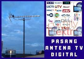 Jasa antena ahli pasang baru antena tv biar jernih