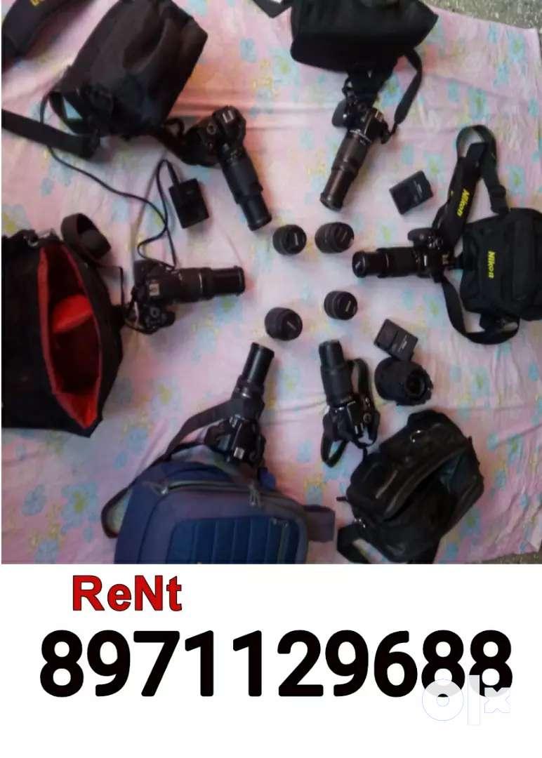 Dslr cameras for Rent 0