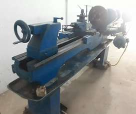 Lathe Machine and Pipe Stand for Sale