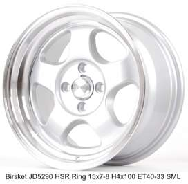 lebar 7/8 velg buat mobil avanza yaris model BRISKET JD5290 HSR Ring15