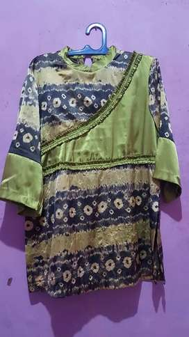 Baju batik preloved jumputan