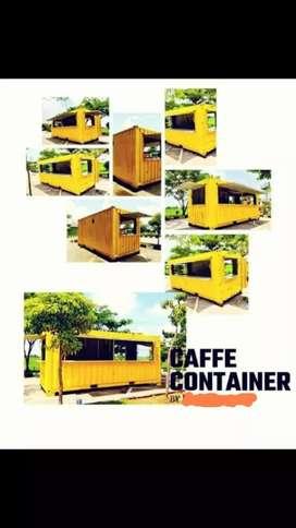 Jual container cafe/coffe shop/kos2an/villa dll. 10ft 20 ft 40 ft dll