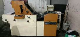 Offset and cutting machine