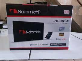 Tv Mobil Double Din Nakamichi Sudah Dvd Mirrorlink Rp. 1.3 Jt