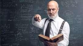 Requirement of science teacher for std.10 English medium