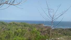 Dijual tanah 10 Hektar view pantai Butuh