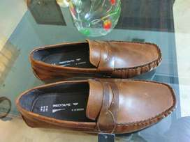 Red Tape CRANFIELD Mens Leather Driving Shoes Tan, came from UK