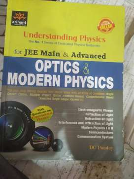 DC pandey physics(arihant publication) for JEE mains and advanced